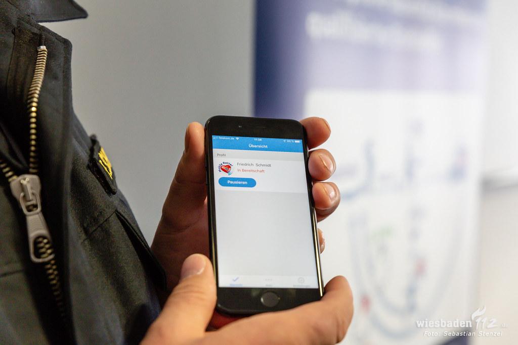 "Vorstellung ""Mobile Retter-App"" Groß-Gerau 05.02.19"