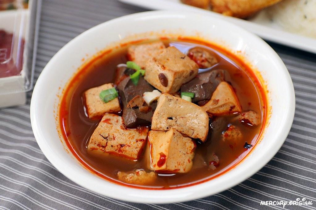 麻辣鴨血豆腐