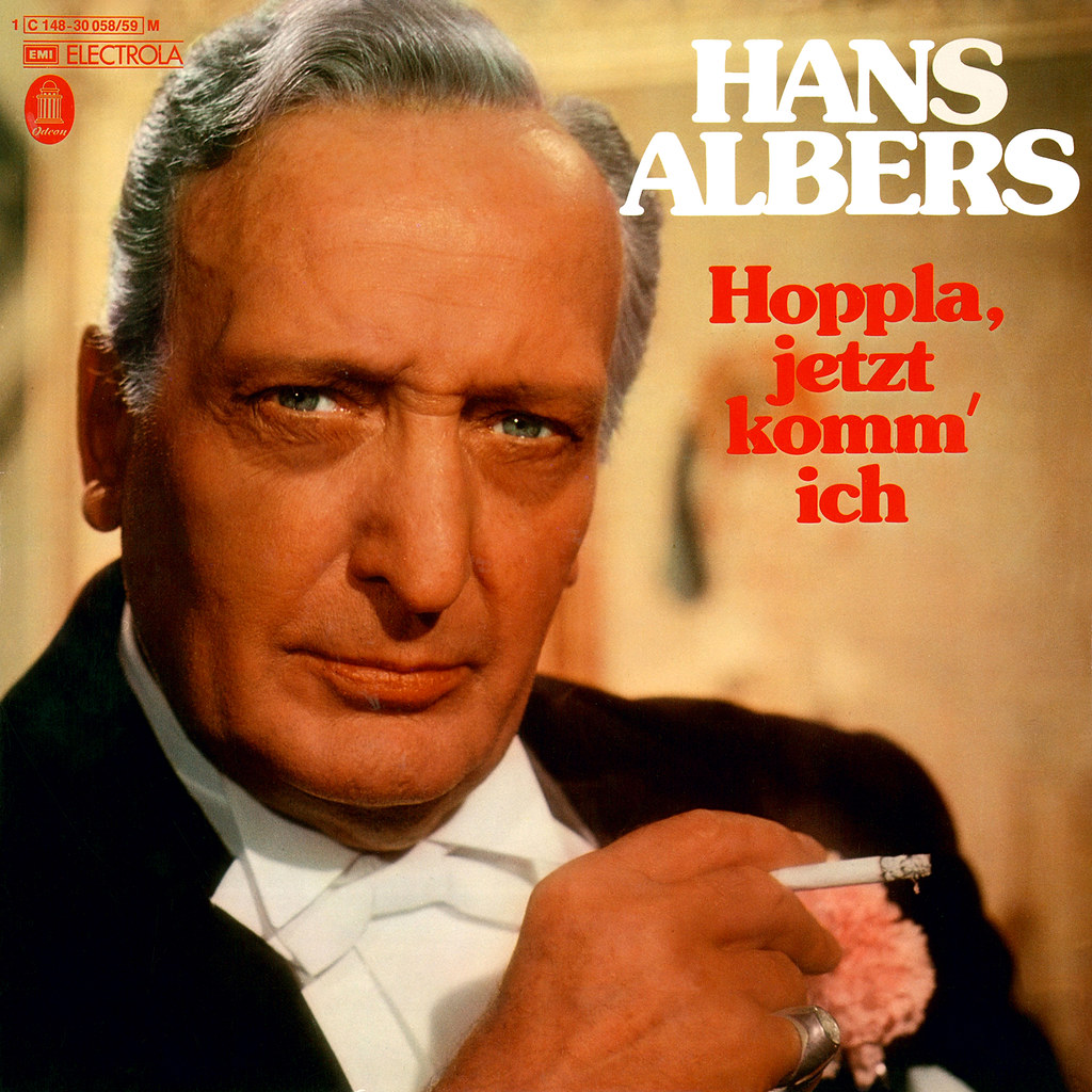 Hans Albers - Hoppla Jetzt Komm Ich