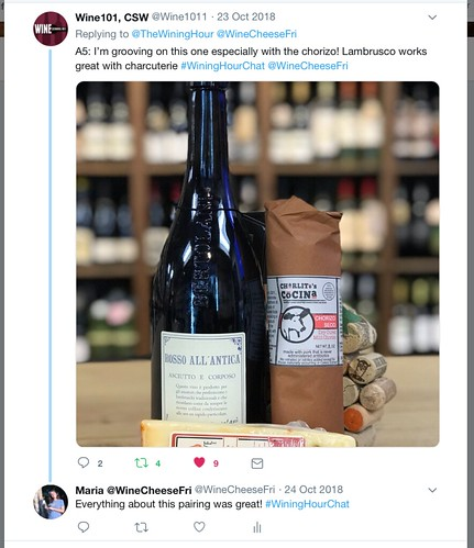 Wining Hour Chat with Wine101Hamden Chris Answer 5, part 1