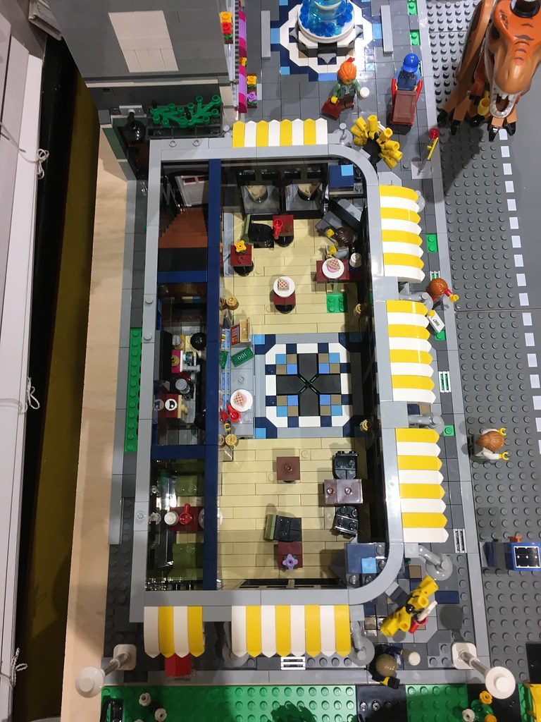 Birdseye view coffee shop