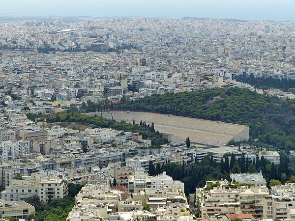 le stade des Panathénées