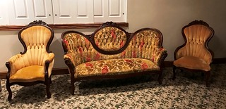 1880's 3 pc Victorian parlor set | by thornhill3