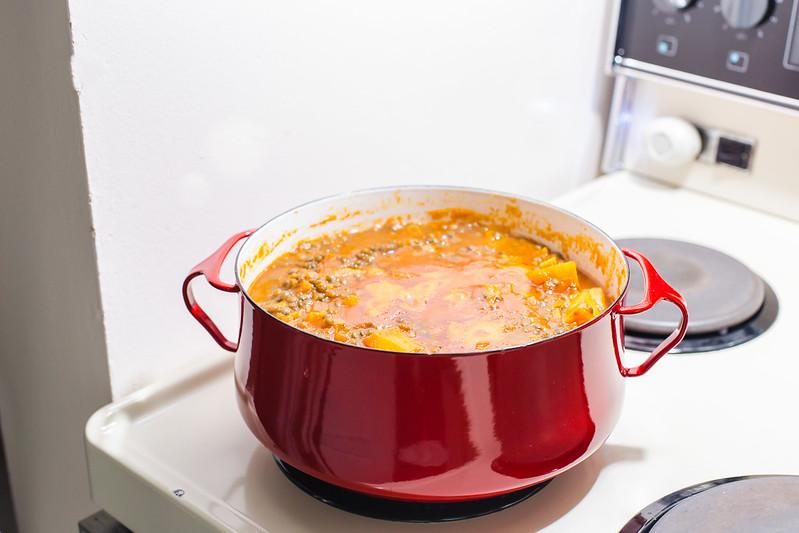 Lentil and Sweet Potato Stew