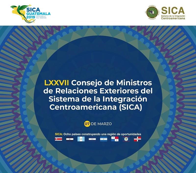 Reunión del Consejo de Ministros de Relaciones Exteriores de los países del SICA en Costa Rica