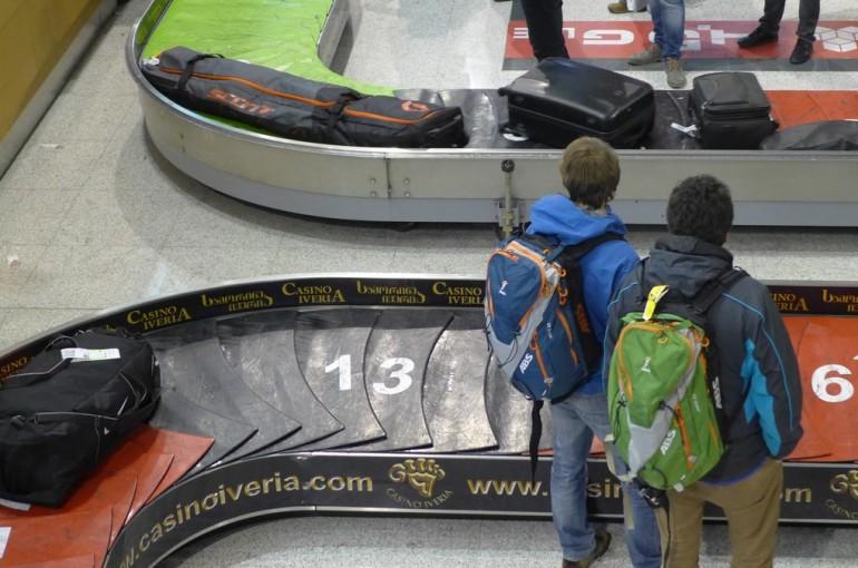 Lavinový batoh a cestování letadlem