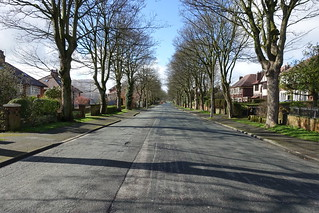 Almost empty Egerton Road in Preston | by Tony Worrall