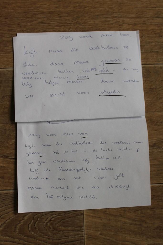 Workshops songteksten schrijven op Landstede // DemoCrazy on Tour