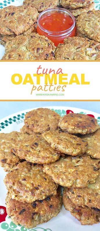 Tuna Oatmeal Patties