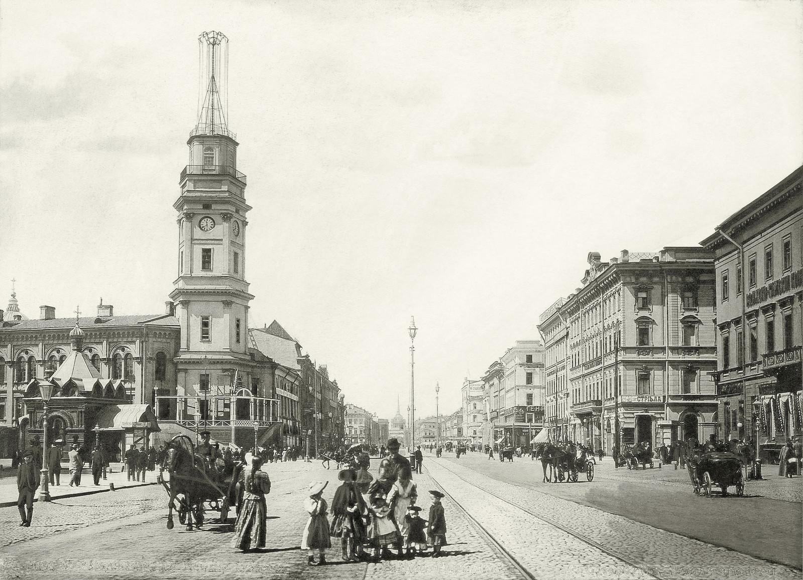 Невский проспект. 1896