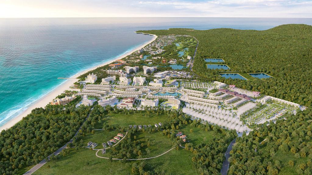 Phối cảnh dự án Vinpearl Grand World Phú Quốc