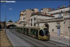 Alstom Citadis - Tam Montpellier 3M (Transports Alternatifs de Montpellier Méditerranée Métropole) n°2043