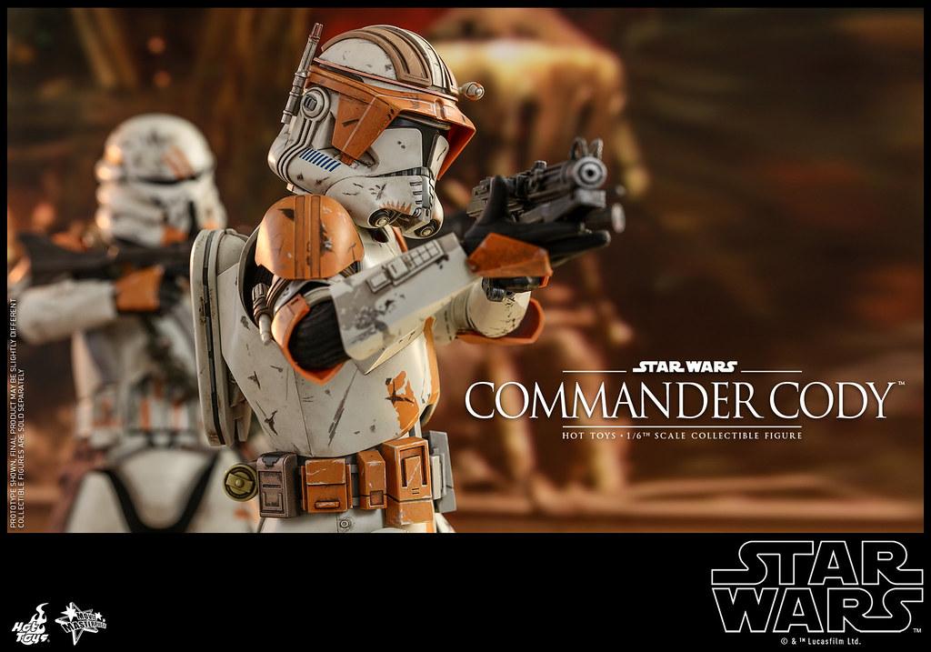 大人氣的複製人指揮官參戰!! Hot Toys – MMS524 -《星際大戰三部曲:西斯大帝的復仇》指揮官寇迪 Commander Cody 1/6 比例人偶作品