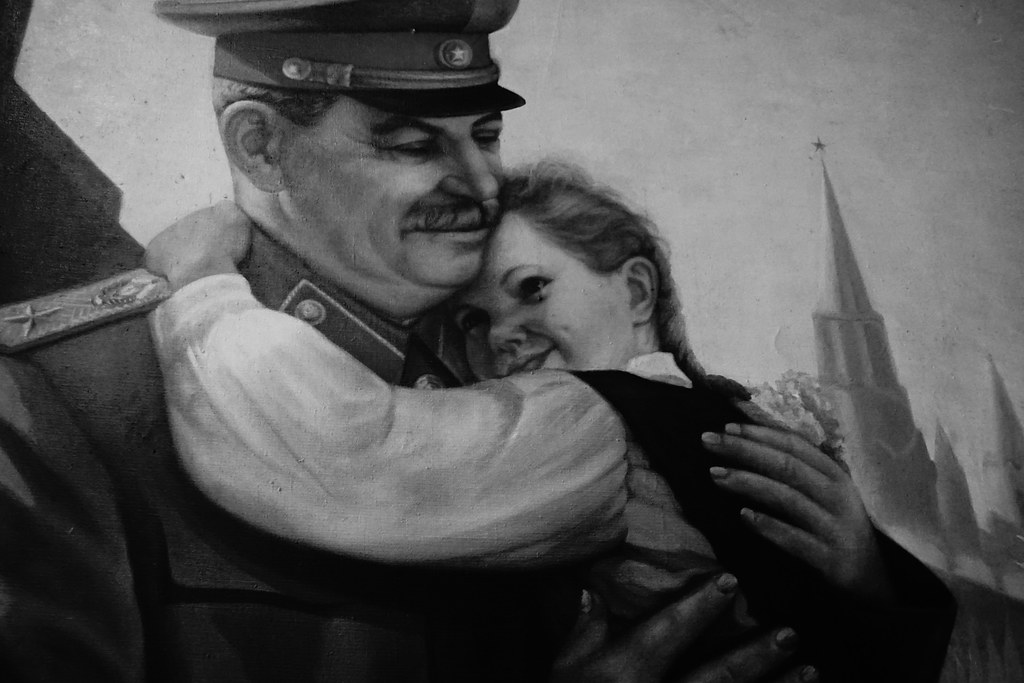 Joseph Stalin and a Girl