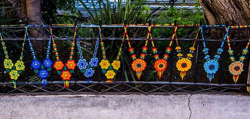 2018 - Mexico - Puebla - Artists Row at El Parian Market
