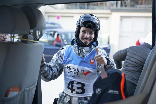 Raid Handisport Savoie Mont-Blanc, mars 2019