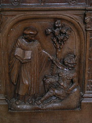 20080519 25954 Jakobus Montreal Kirche Holzschnitzerei - Photo of Marmeaux