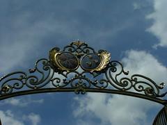 20080523 28331 Montbard Park WappenSchild - Photo of Quincy-le-Vicomte