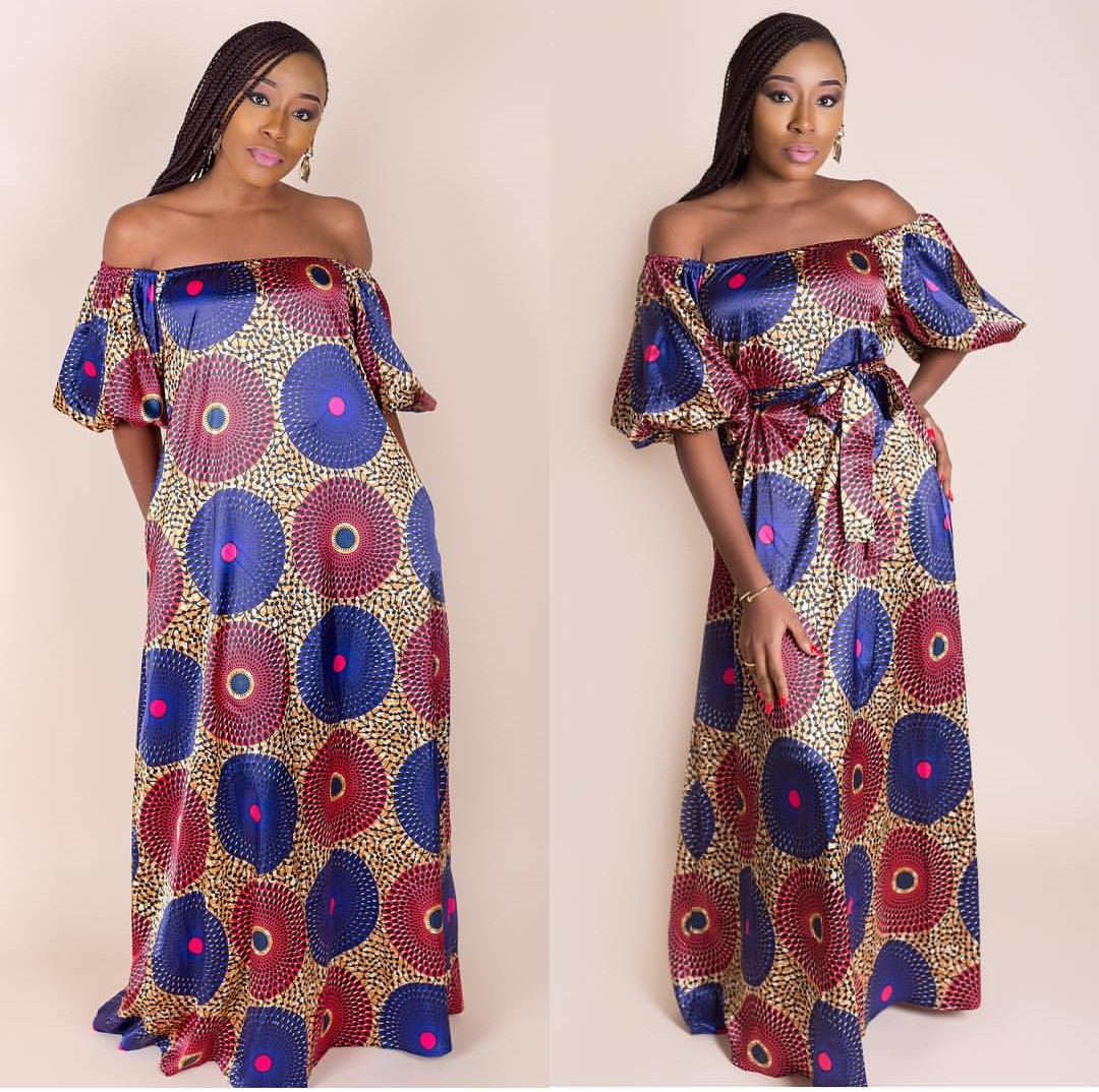 2020 ANKARA PRINT BLOUSES FOR POWERFUL LADY 2