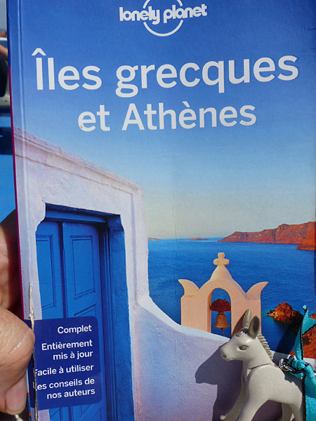 le Lonely Planet de l'ân grec