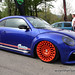 """""""Miami Dolphins"""" Blue VW New Beetle on Cast13 RB2 wheels"""