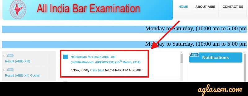 All India Bar Exam Result 2019 Announced; Check your Result at allindiabarexamination.com