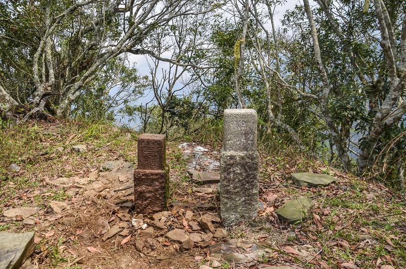 大原山3-7142三角點與次中(04)山字森林三角點(Elev. 1114 m) 1