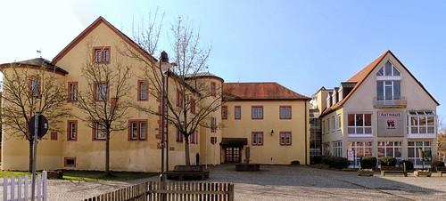 Schöllkrippen Rathaus ehemaliges Schloss