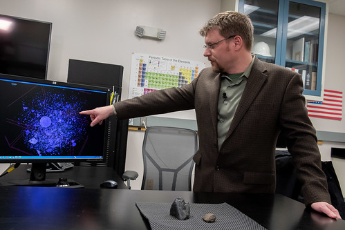 Martian meteorites land at Army lab