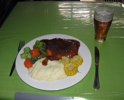 Rump Steak, Criterion Hotel, Carrington, Newcastle, NSW.