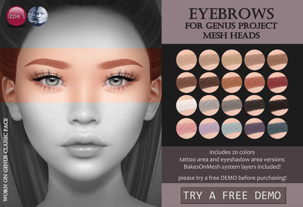 Eyebrows (Genus) - TeleportHub.com Live!