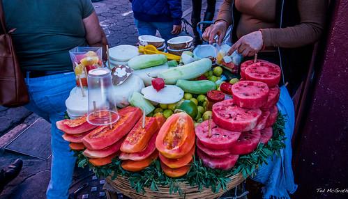 2018 - Mexico - Puebla - Street Food