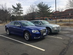 2018 and 2006 Chrysler 300s