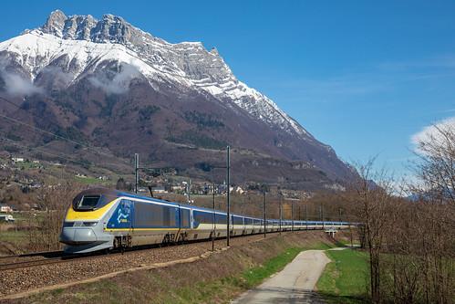 Eurostar 9094 sous l'Arclusaz