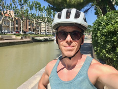 2018.06.20 - fieldwork by bike - Photo of Narbonne