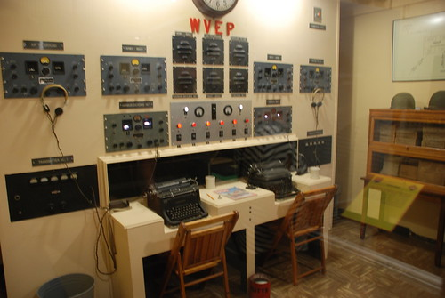 Fort Moultrie Radio Room