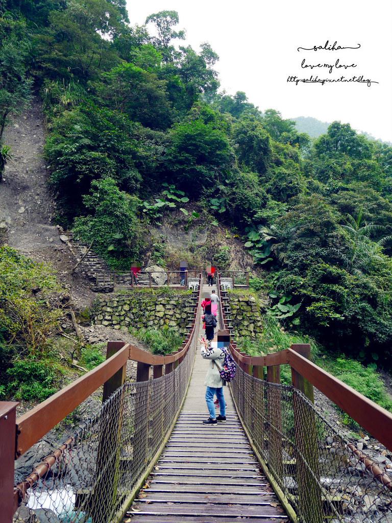 宜蘭冬山鄉好玩踏青郊遊爬山景點旅遊新寮瀑布第二層瀑布開放 (7)