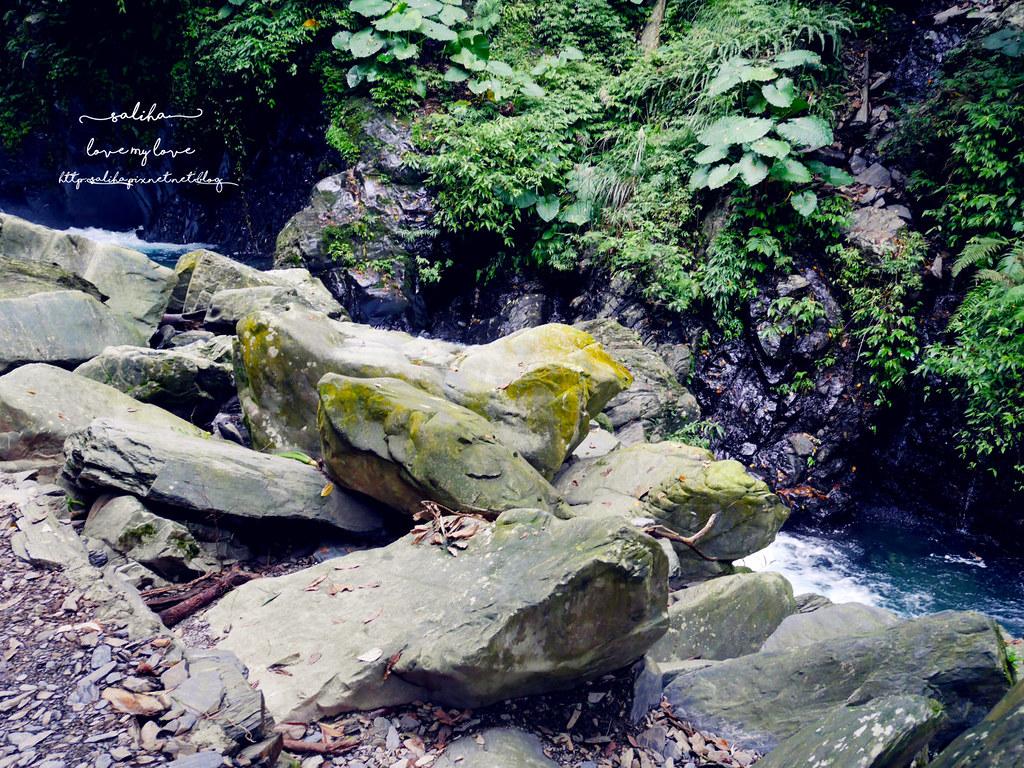 宜蘭絕美瀑布旅遊兩天一夜旅行行程景點推薦新寮瀑布步道 (1)