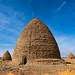 Beehive tombs, Nubia, Old Dongola, Sudan by Eric Lafforgue
