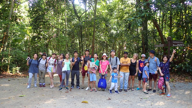 Chek Jawa Boardwalk tour with the Naked Hermit Crabs, Feb 2019