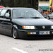 Green VW Passat B3 Wagon