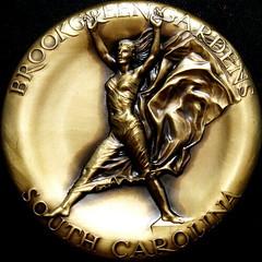 1999 Brookgreen Gardens Medal reverse