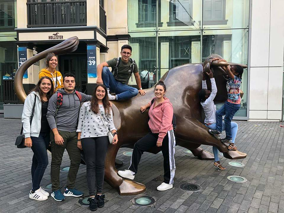 Hidden Voices Erasmus+ participants in Birmingham