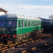 Swindon class 126 DMU at Bo'ness