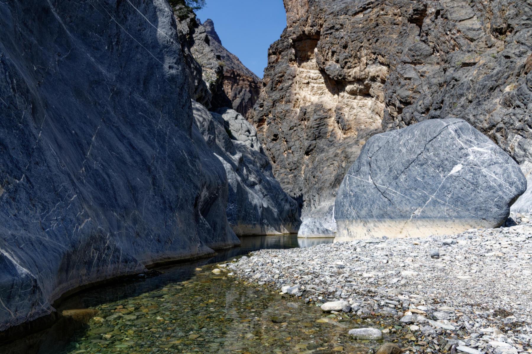 Snake Gorge, Oman