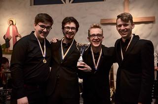 Elias, Joel, Josef och Simon - vinnare av grupp 4