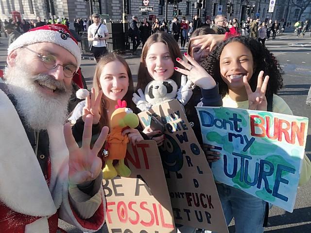Fridays For Future - Student Climate Strikes London England UK