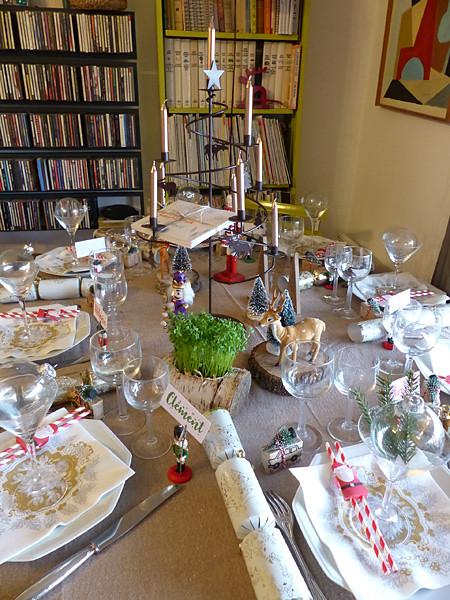 table Noël 2