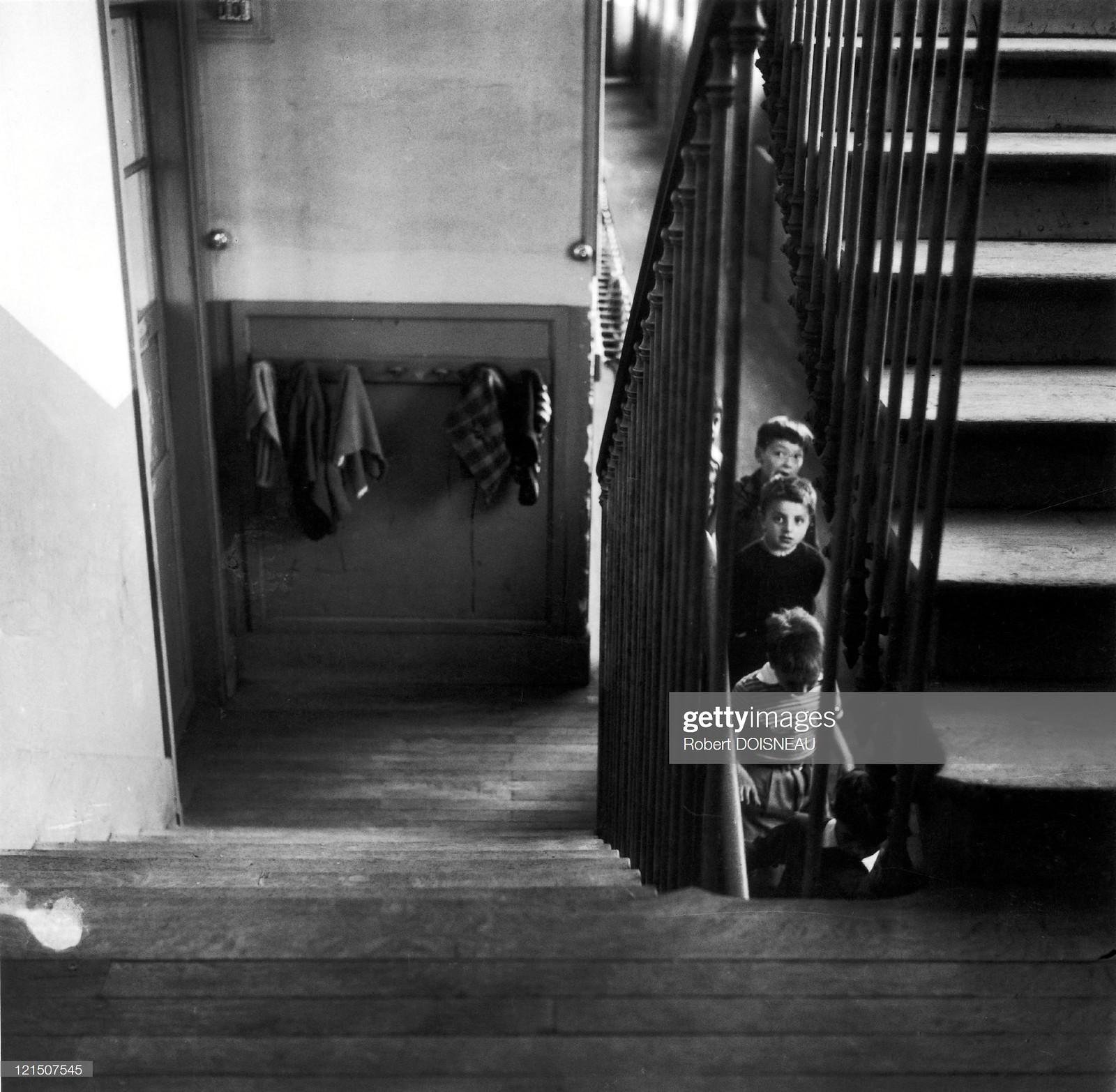 1956. Школьная лестница