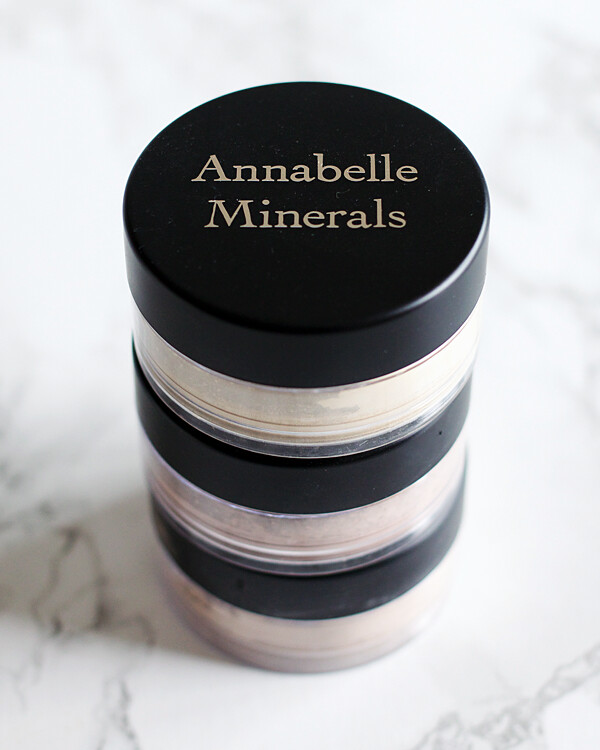 Annabelle Minerals Face Powders